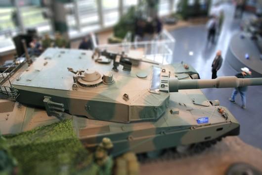 90戦車ミニチュア