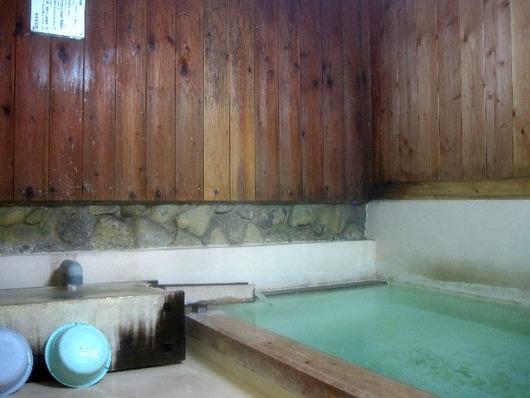 煮川の湯浴槽