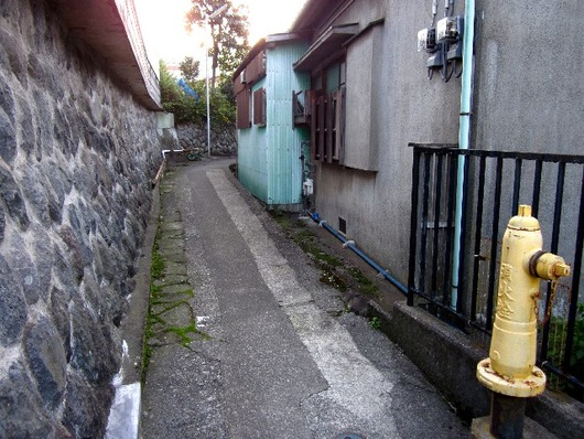 山田湯入口