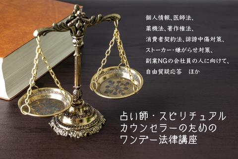 占い師のための法律講座