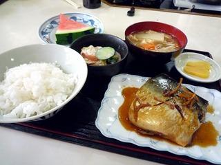 鯖煮込み定食