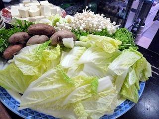 豚しゃぶしゃぶ(野菜)