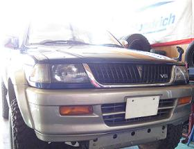 Mitsubishi チャレンジャー7インチUP