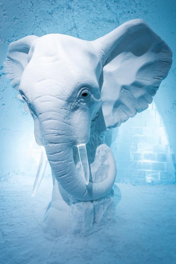 凍える寒さ!スウェーデンの氷の宿屋『アイスホテル』 (1)