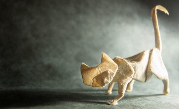 一枚の紙から折り紙で作る動物!折り紙アート (16)