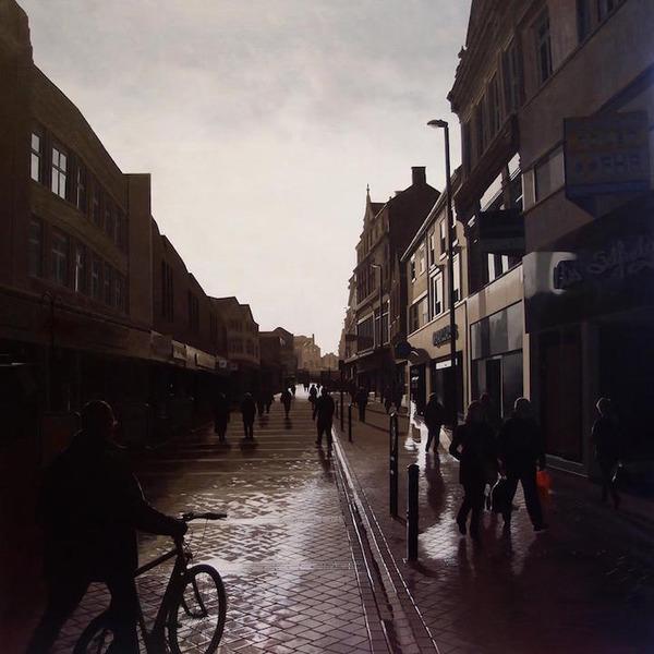 写真と見間違いそう!超精密でリアルな都市風景画 (15)