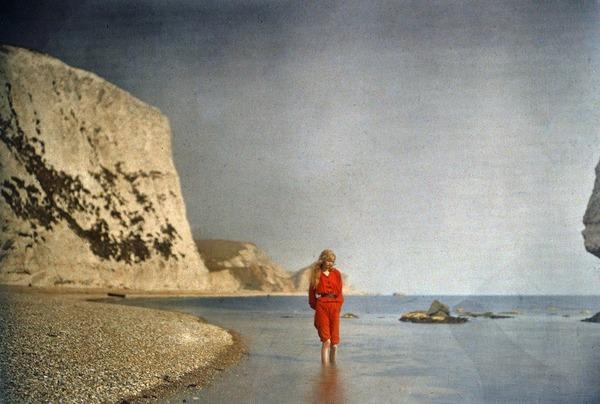 100年前のカラー写真,クリスティーナ,オートクローム 2