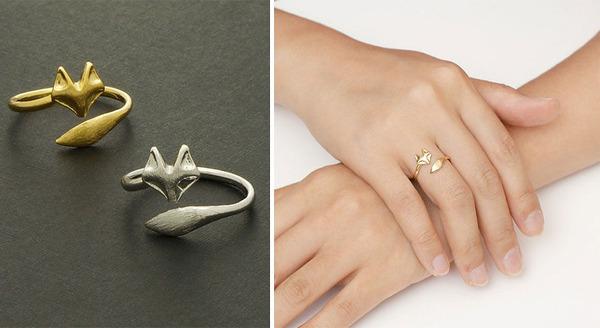 キツネの指輪