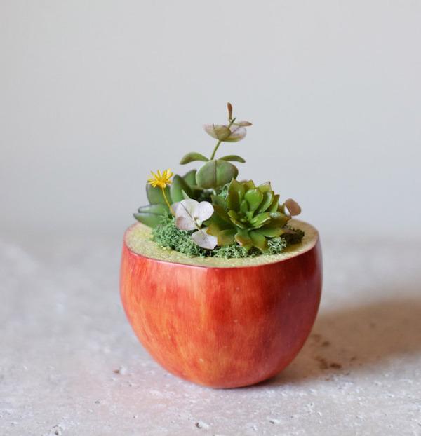 動物や植物な樹脂製アートプランター!『HARIMOGURA』 (6)