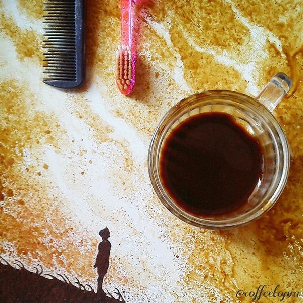 美しいコーヒー画,珈琲画 (12)