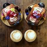 美味しさ2倍!毎日シンメトリーな朝食写真シリーズ