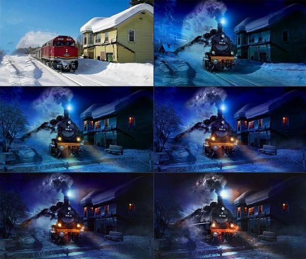 CGのメイキング画像 (1)
