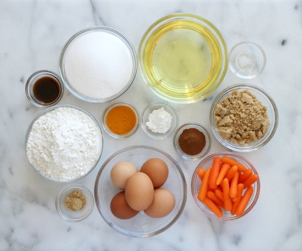 24 Carrot Cakeの材料