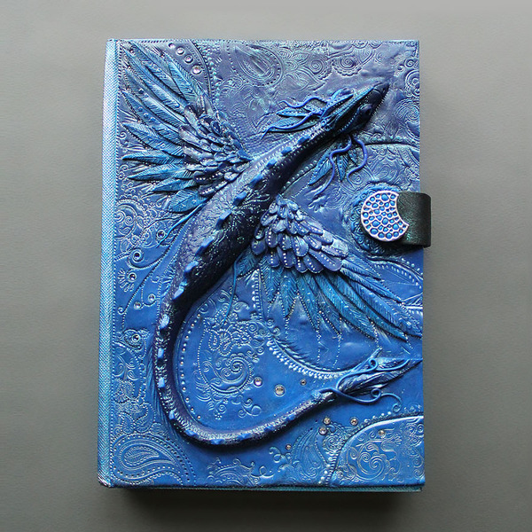 青竜のブックカバー