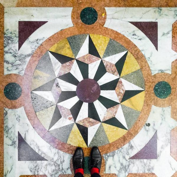 色んな床いっぱい。イタリア、ヴェネツィアの床のデザイン (8)