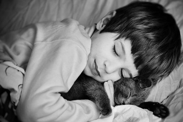 ペットは大切な家族!犬や猫と人間の子供の画像 (72)