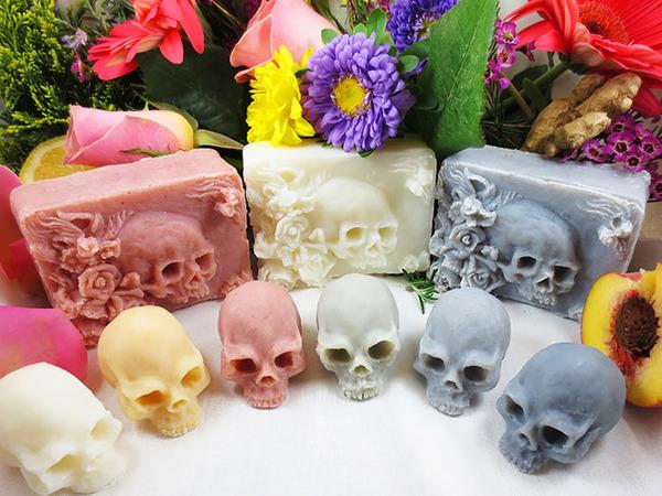 頭蓋骨の石鹸、Skull Soap