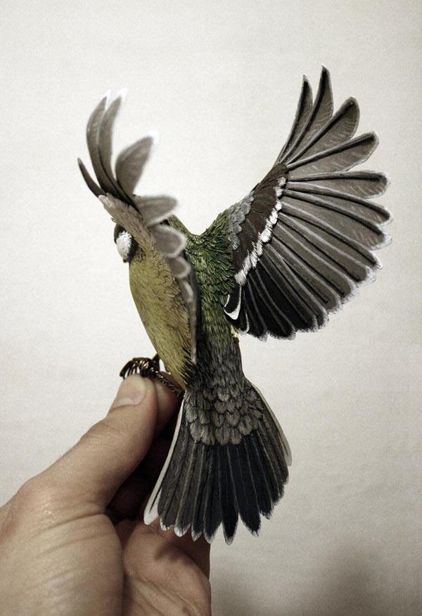 リアルな鳥の模型 3