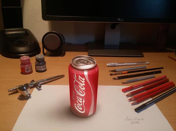 歪像によって浮き出て見える3D絵画アートが面白い! (4)