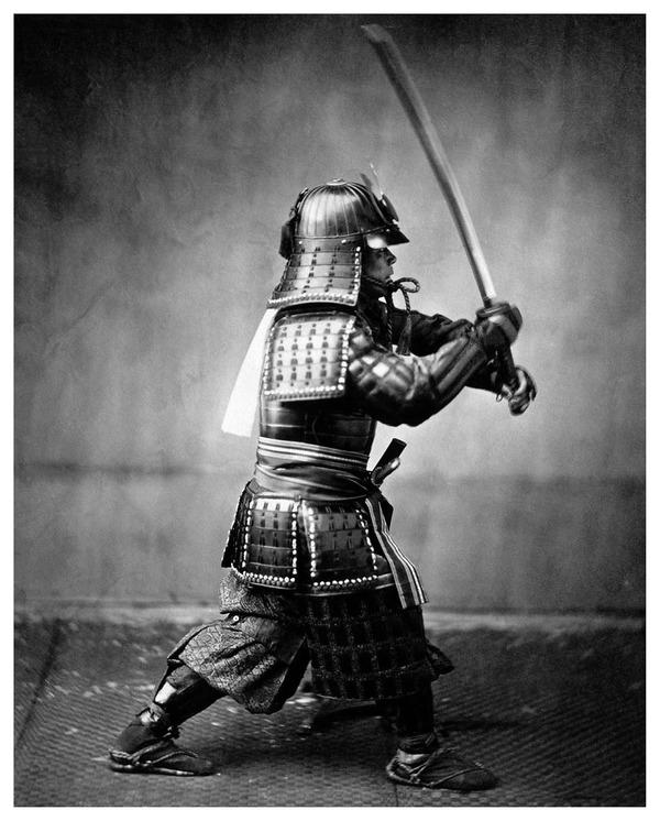 ラストサムライ…!19世紀、明治時代の侍の貴重な写真 (3)