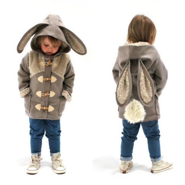 子供用の動物フード付きコートが反則的な可愛さ! (7)