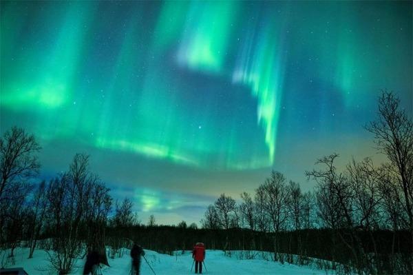 フィンランドのオーロラ3