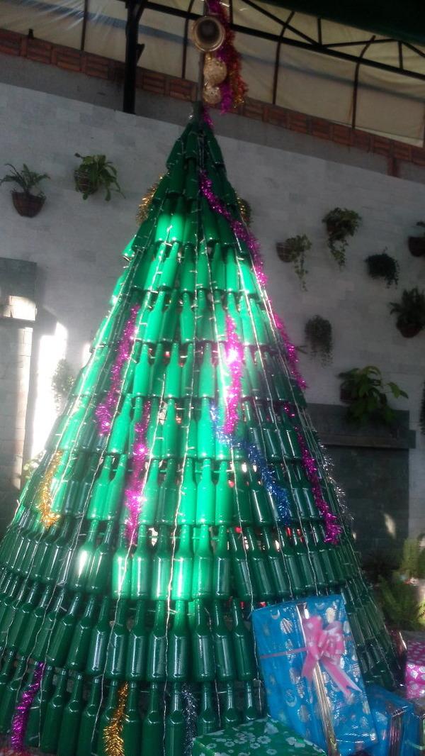一味違ったちょっとクリエイティブなクリスマスツリー画像! (16)