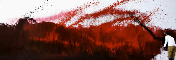 龍の壁画 4