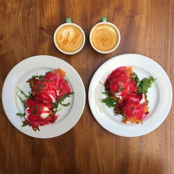 美味しさ2倍!毎日シンメトリーな朝食写真シリーズ (58)