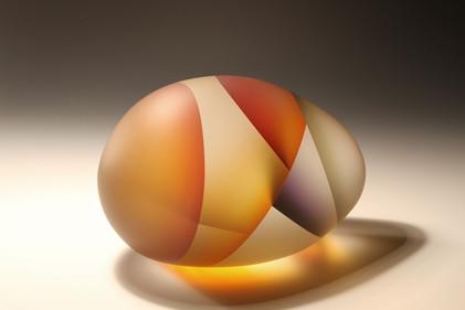 細胞分裂のガラスアート セグメンテーション 9