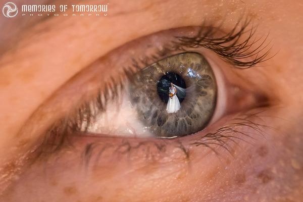 瞳に反射して映る結婚式の風景を撮影した『Eyescapes』 (4)