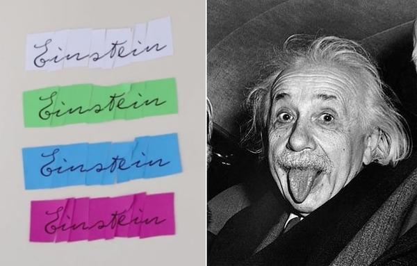Albert Einstein Font