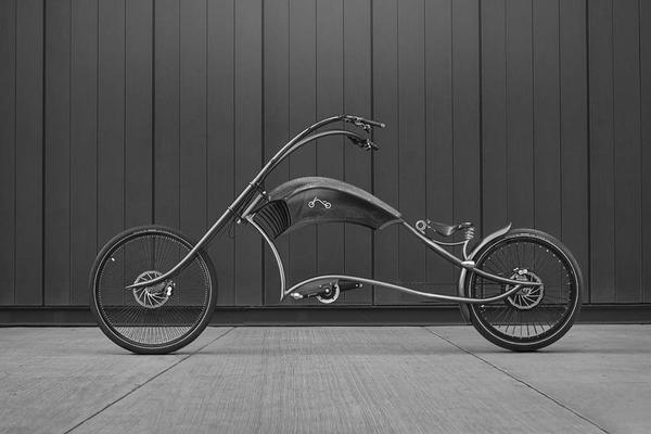 ブイブイ言わせたくなる?レトロデザインの電動自転車 (1)