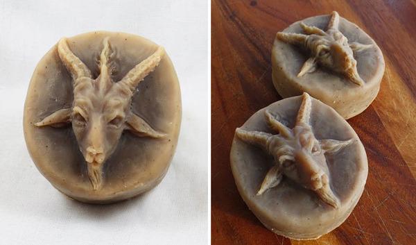頭蓋骨の石鹸、Skull Soap 4