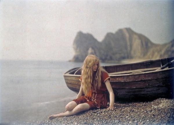 100年前のカラー写真,クリスティーナ,オートクローム 4