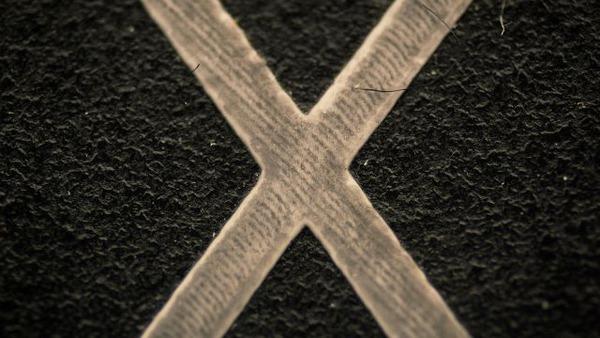キーボードのX
