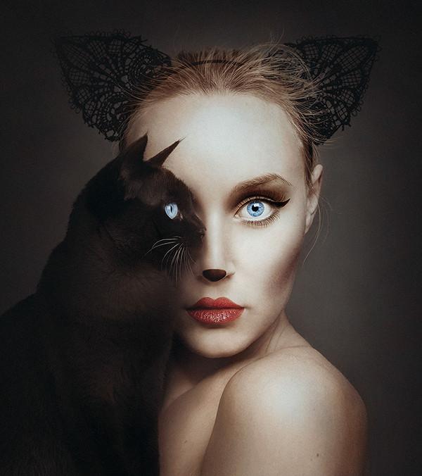 動物の瞳と人間の瞳を重ね合わせた写真『ANIMEYED』 (1)