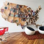 ユニークな形をした本棚いろいろ!本を読むのが楽しくなるかも