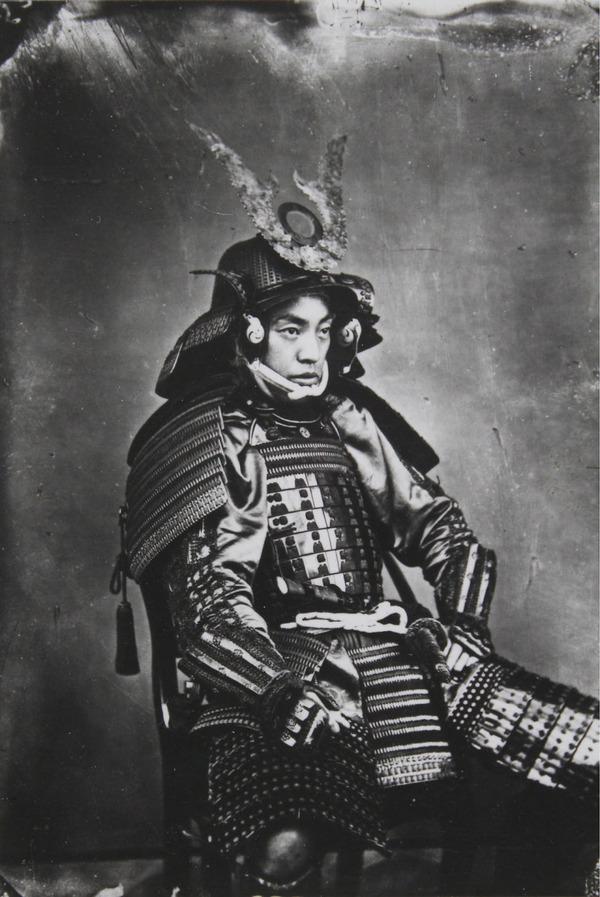 ラストサムライ…!19世紀、明治時代の侍の貴重な写真 (1)