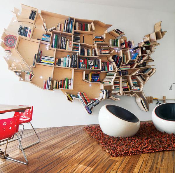 USA本棚
