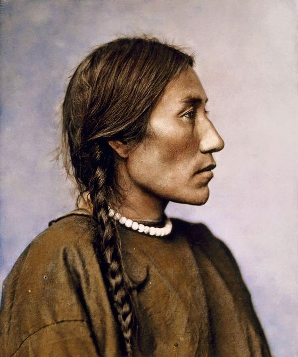 インディアン(ネイティブ・アメリカン)の貴重なカラー化写真 (15)