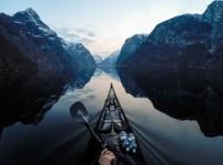 カヤッカー視点で観る!ノルウェーフィヨルドの旅!【北欧風景画像】