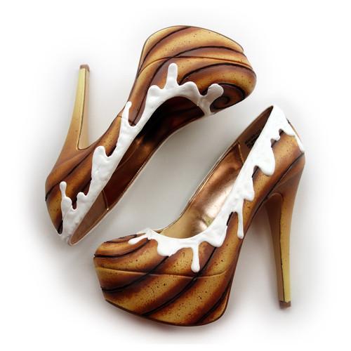 ケーキやアイスクリームみたいなスウィーツなレディース靴 (7)