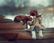 自然x動物x人間の子供が織り成す無垢なファンタジー