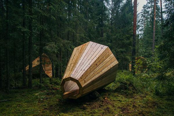 癒し効果がきっと一杯!森の音を聴く超大きなメガホン (1)