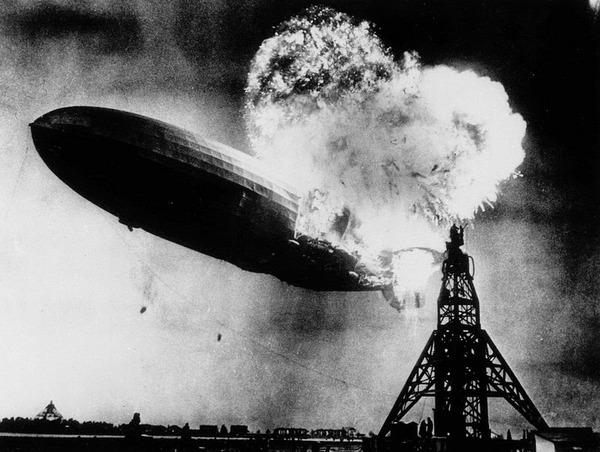ヒンデンブルク号爆発事故,1937