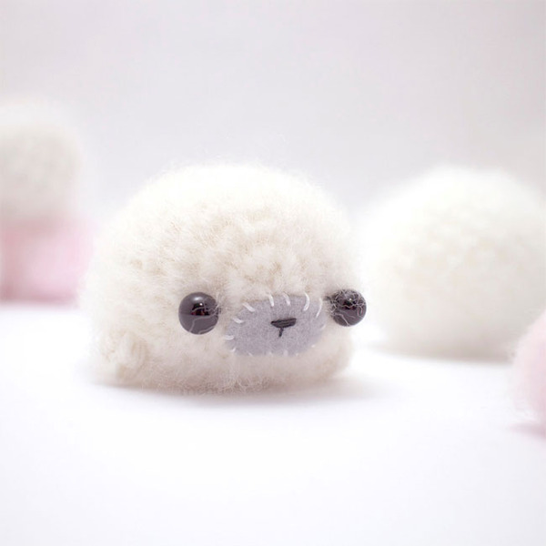 小さすぎる可愛すぎる動物の『あみぐるみ』 (2)