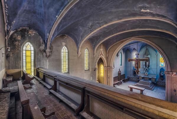 ヨーロッパの廃墟画像!寂れた建物の内観でメランコリック (25)