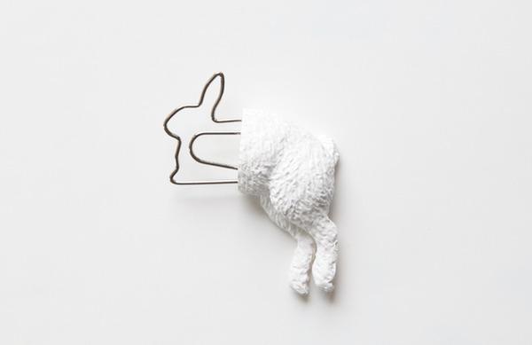 シンプルかわいい!面白い形をした動物の栞(しおり) (6)
