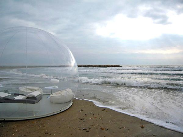 ホイポイカプセルみたいな即席テントで一泊!『Bubble Tent』 (7)